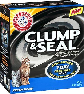 Arm & Hammer Litter Clump & Seal Fresh Home Litter, 28-lb box