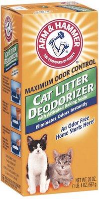 Arm & Hammer Cat Litter Deodorizer, 20-oz box