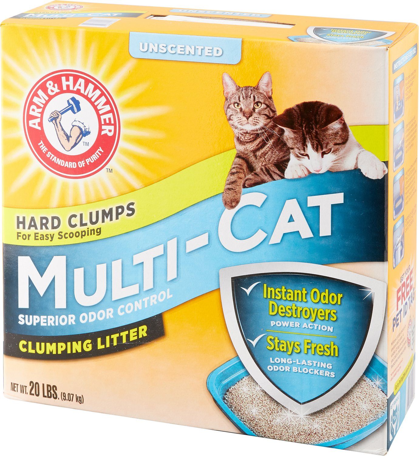 Arm & Hammer Litter Multi-Cat Strength Clumping Litter Image