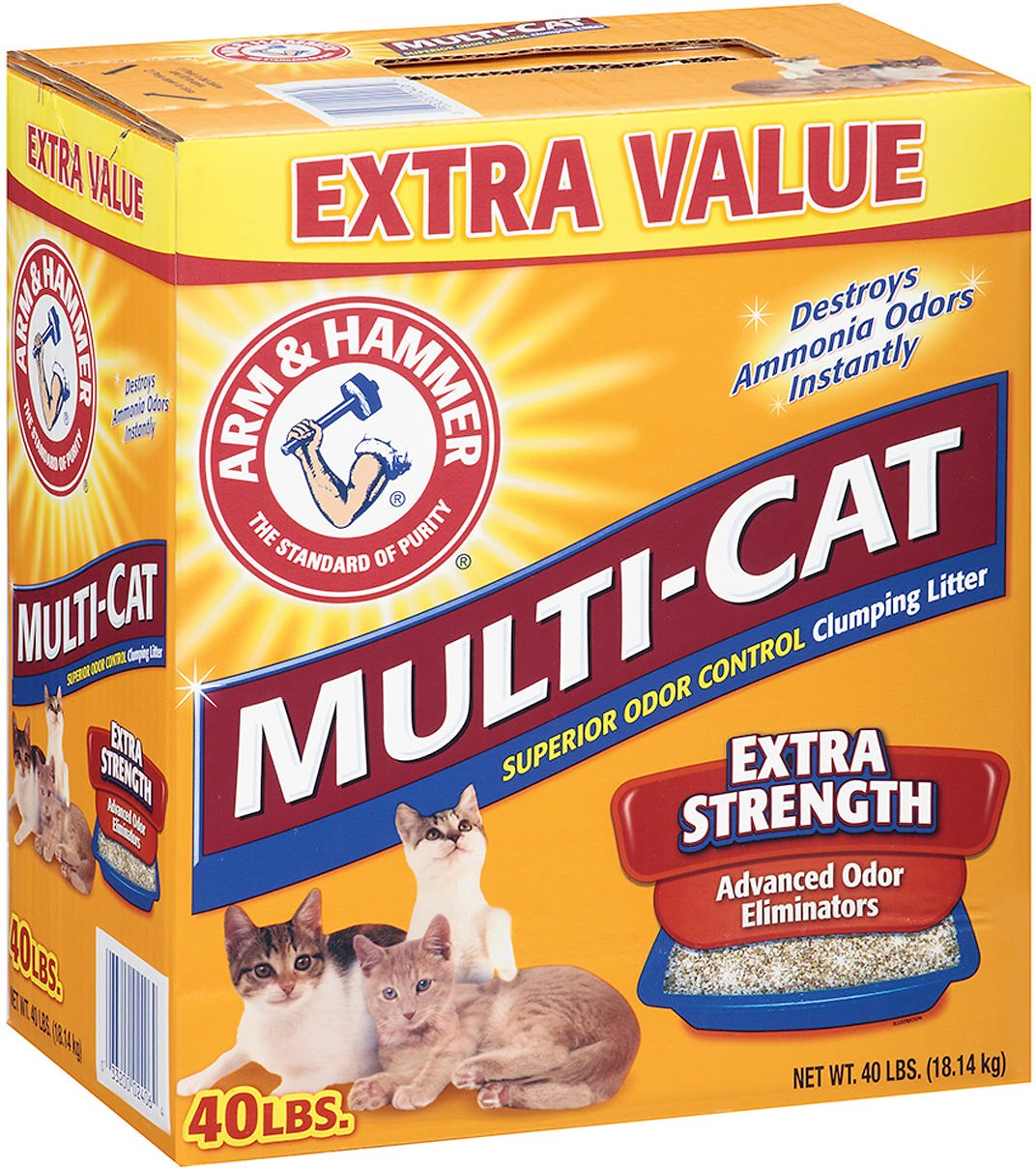 Arm & Hammer Litter Multi-Cat Strength Fresh Scent Clumping Litter Image
