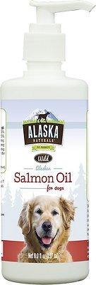 Alaska Naturals Wild Alaskan Salmon Oil Natural Dog Supplement, 15.5-oz bottle