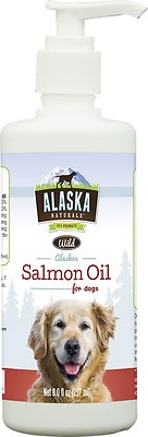 Alaska Naturals Wild Alaskan Salmon Oil Natural Dog Supplement, 8-oz bottle