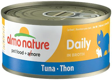 Almo Nature Daily Tuna in Broth Grain-Free Wet Cat Food, 2.47-oz