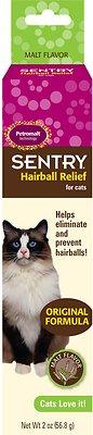 Sentry HC Petromalt Hairball Relief Original Formula Malt Flavor Cat Treatment, 2-oz