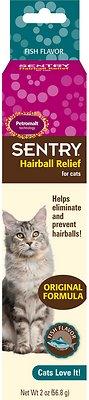 Sentry HC Petromalt Hairball Relief Original Formula Fish Flavor Cat Treatment, 2-oz