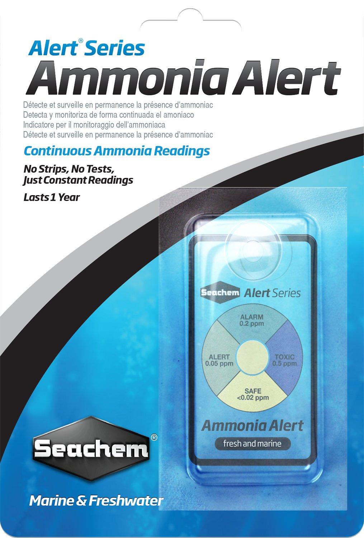 Seachem Alert Series Ammonia Reading for Marine & Freshwater Aquariums
