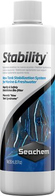 Seachem Stability for Marine & Freshwater Aquariums, 8.5-oz bottle