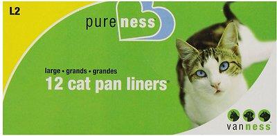 Van Ness Cat Pan Liners, Large, 12 count