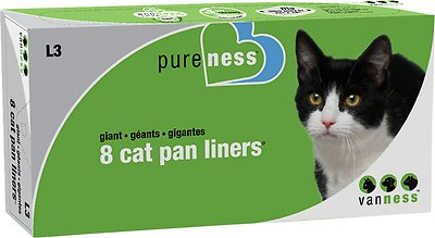 Van Ness Cat Pan Liners, Giant, 8 count