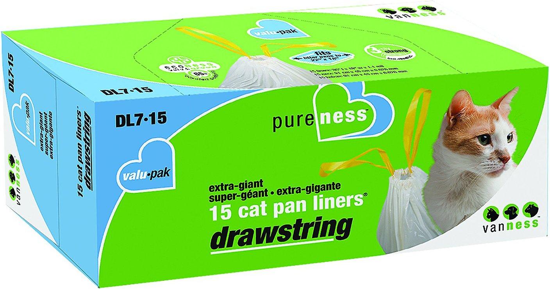 Van Ness Drawstring Cat Pan Liners Image