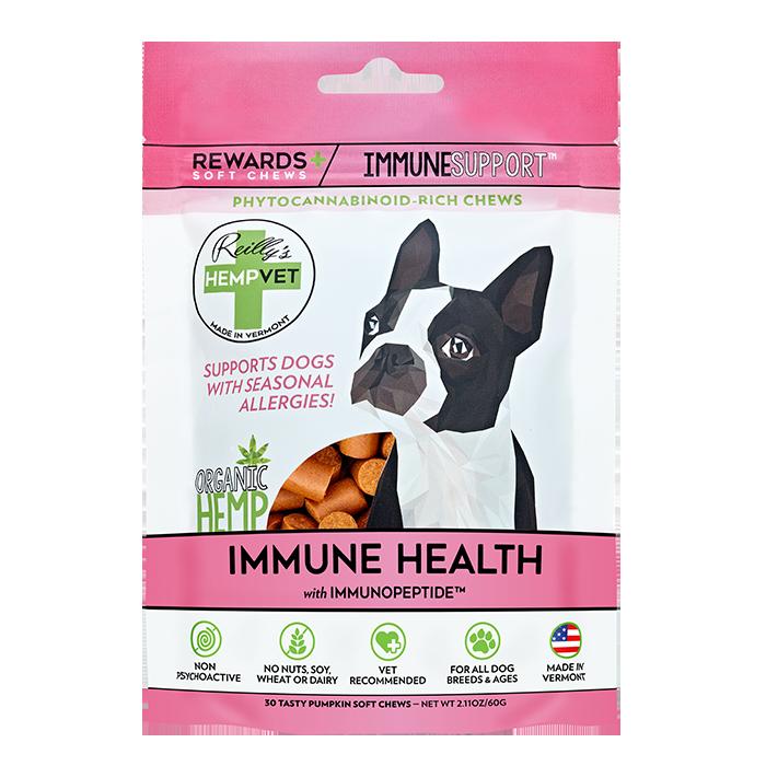 H-Vet Rewards+ Functional Immune Health Dog Chews, 2.11-oz