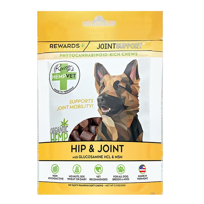 H-Vet Rewards+ Functional Hip & Joint Support Dog Chews, 2.11-oz (Size: 2.11-oz) Image