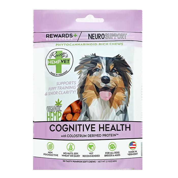 H-Vet Rewards+ Functional Cognitive Health Dog Chews, 2.11-oz (Size: 2.11-oz) Image