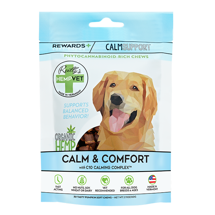 H-Vet Rewards+ Functional Calm & Comfort Dog Chews, 2.11-oz