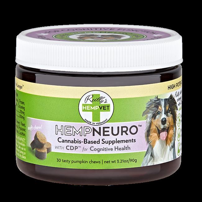 H-Vet Neuro High Potency Neurological Health Nutritional Dog Chews, 3.21-oz (Size: 3.21-oz) Image