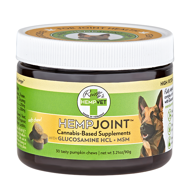 H-Vet Joint High Potency Joint Health Nutritional Dog Chews, 3.75-oz