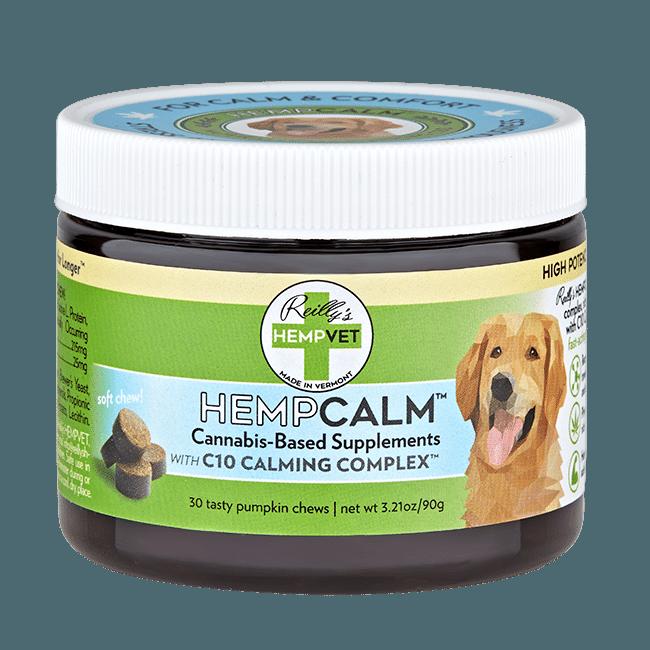 H-Vet Calm High Potency Calming Nutritional Dog Chews, 3.21-oz (Size: 3.21-oz) Image