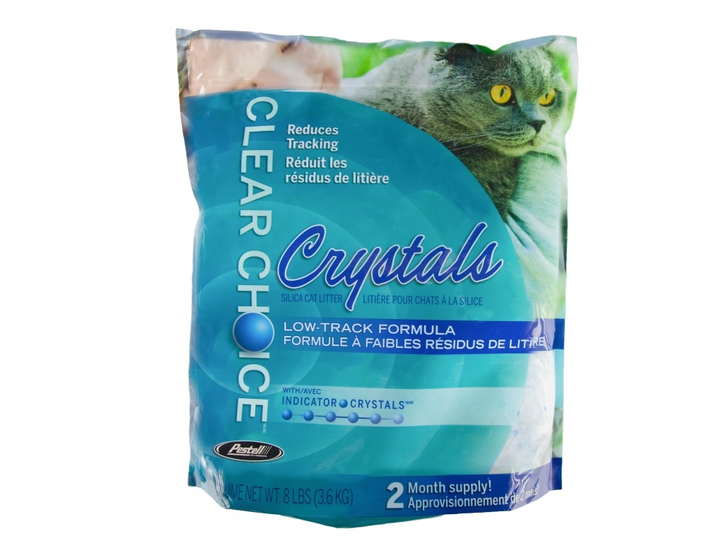 Clear Choice Silica Crystals Alternative Cat Litter, 8-lb Bag