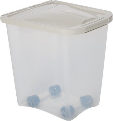 Van Ness Pet Food Storage Container, 25-lb