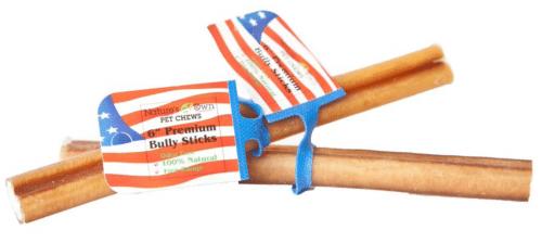 Nature's Own USA Odor-Free Premium Bully Sticks, 6-inch