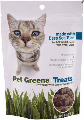 Pet Greens Pet Greens Semi Moist Tuna Cat Treats, 3-oz