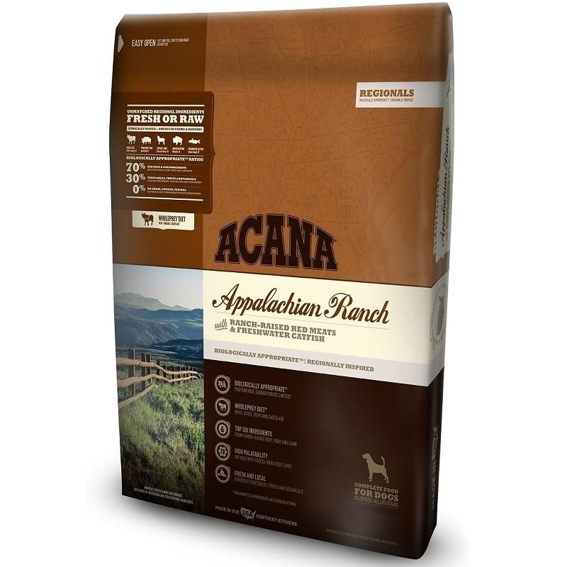 ACANA Regionals Appalachian Ranch Grain-Free Dry Dog Food, 25-lb