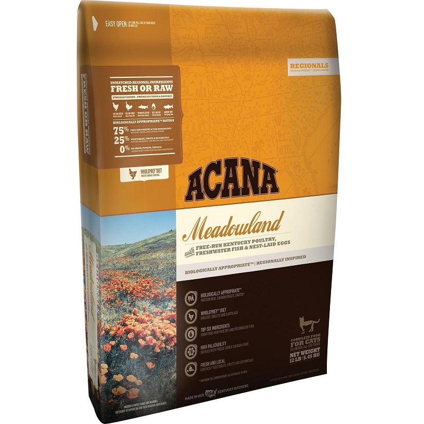 ACANA Regionals Meadowland Dry Cat Food, 12-lb
