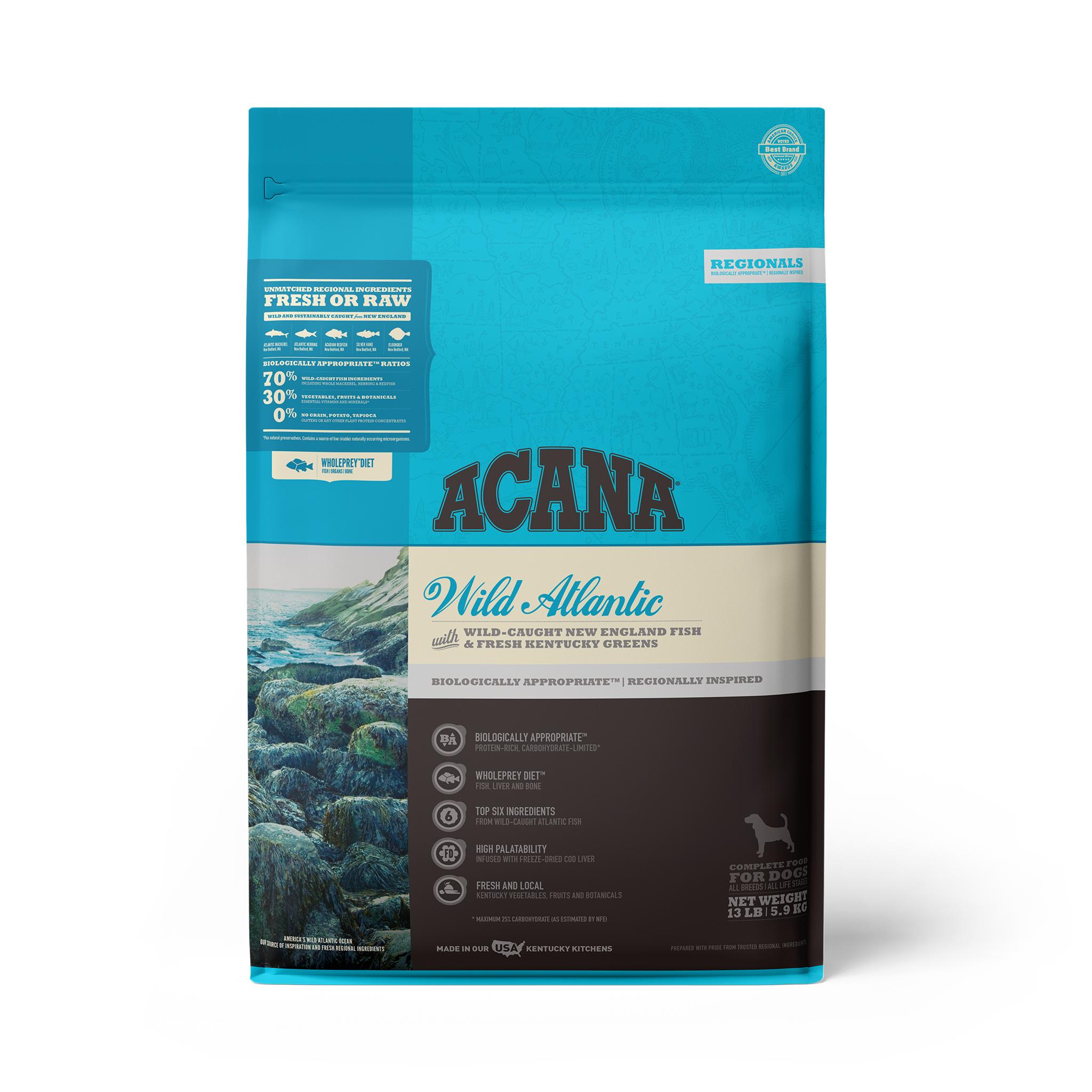 ACANA Regionals Wild Atlantic Grain-Free Dry Dog Food, 13-lb