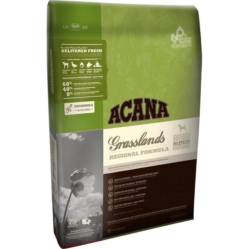 ACANA Regionals Grasslands Grain-Free Dry Dog Food, 25-lb