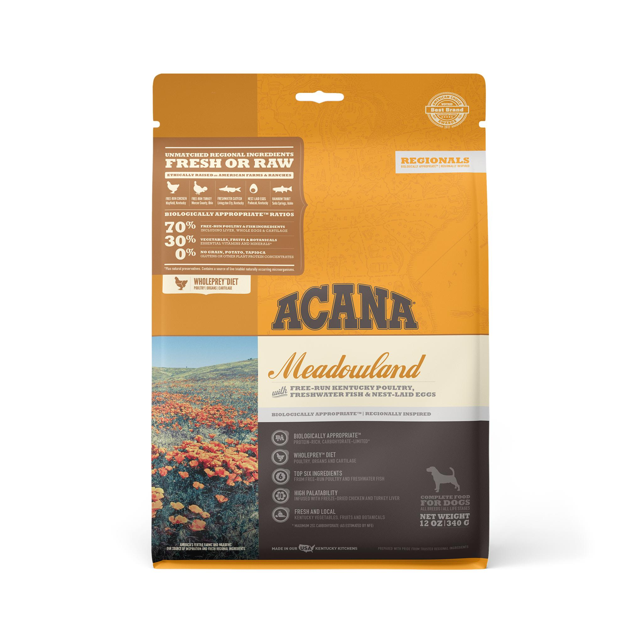 ACANA Regionals Meadowland Grain-Free Dry Dog Food Image