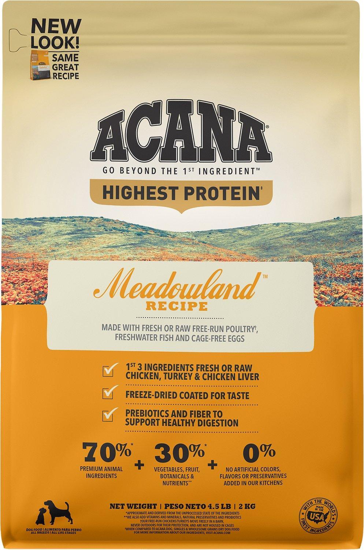 ACANA Regionals Meadowland Grain-Free Dry Dog Food Image