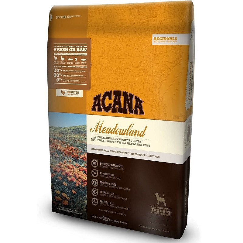 ACANA Regionals Meadowland Grain-Free Dry Dog Food, 4.5-lb
