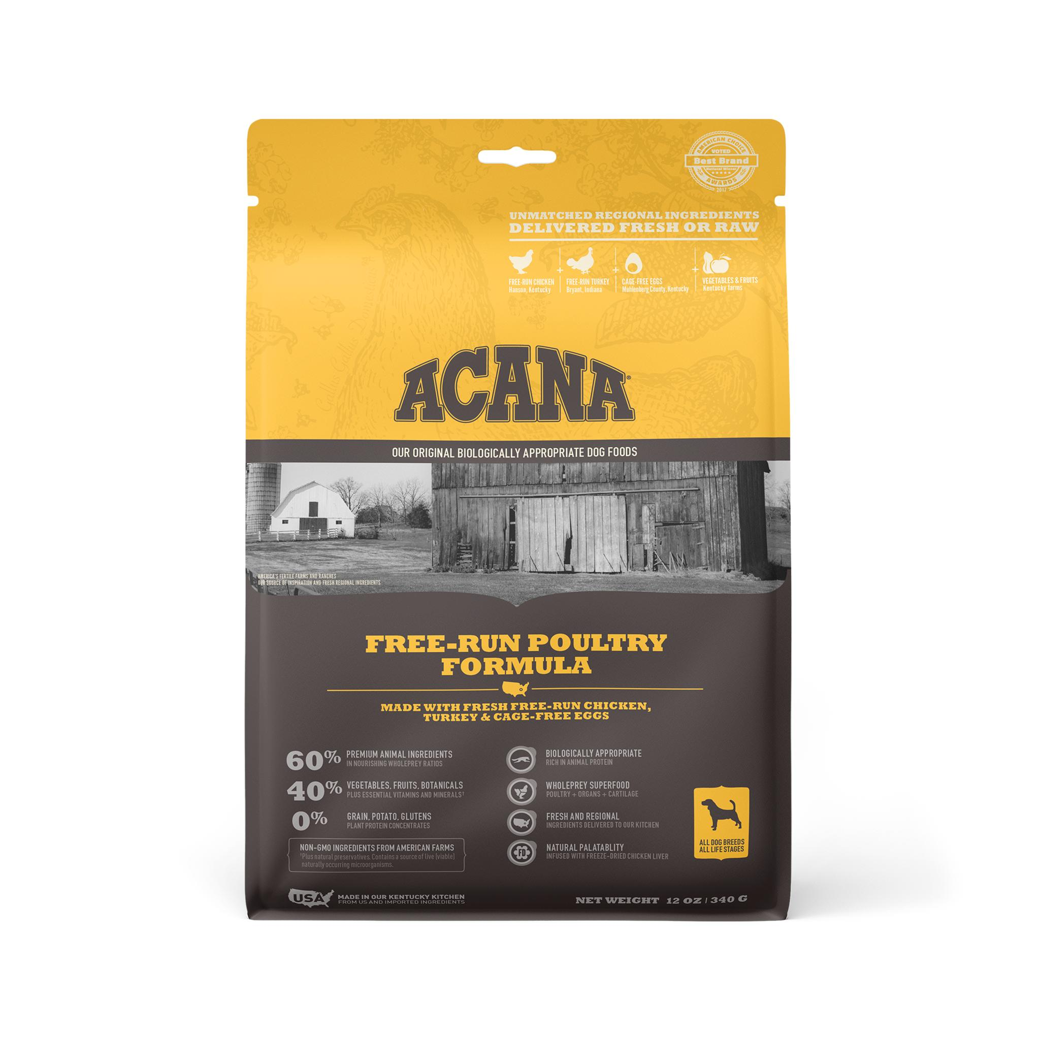ACANA Free-Run Poultry Grain-Free Dry Dog Food Image