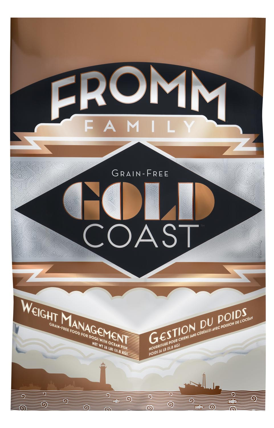 Fromm Gold Coast Grain-Free Weight Management Dry Dog Food, 26-lb