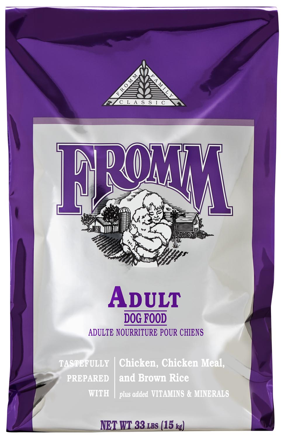 Fromm Family Classics Adult Formula Dry Dog Food, 15-lb