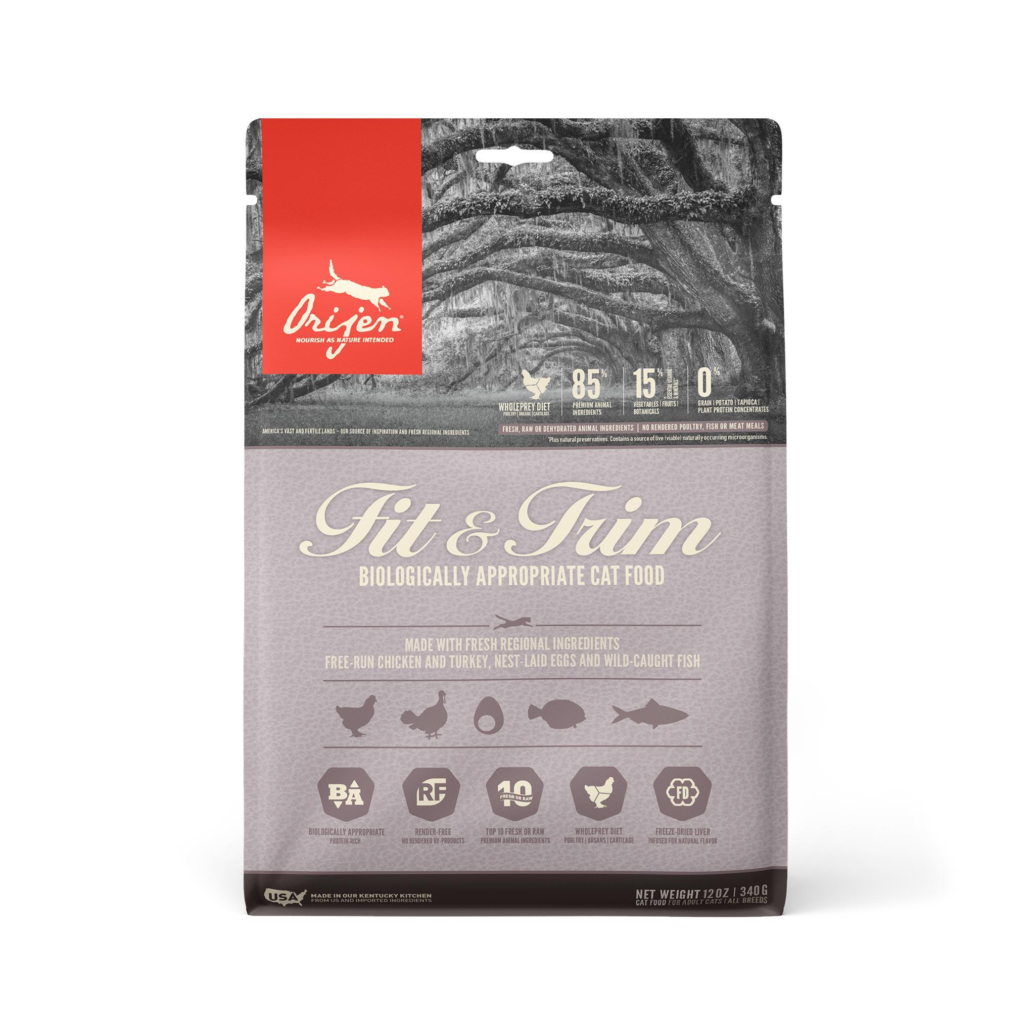 ORIJEN Fit & Trim Dry Cat Food Image