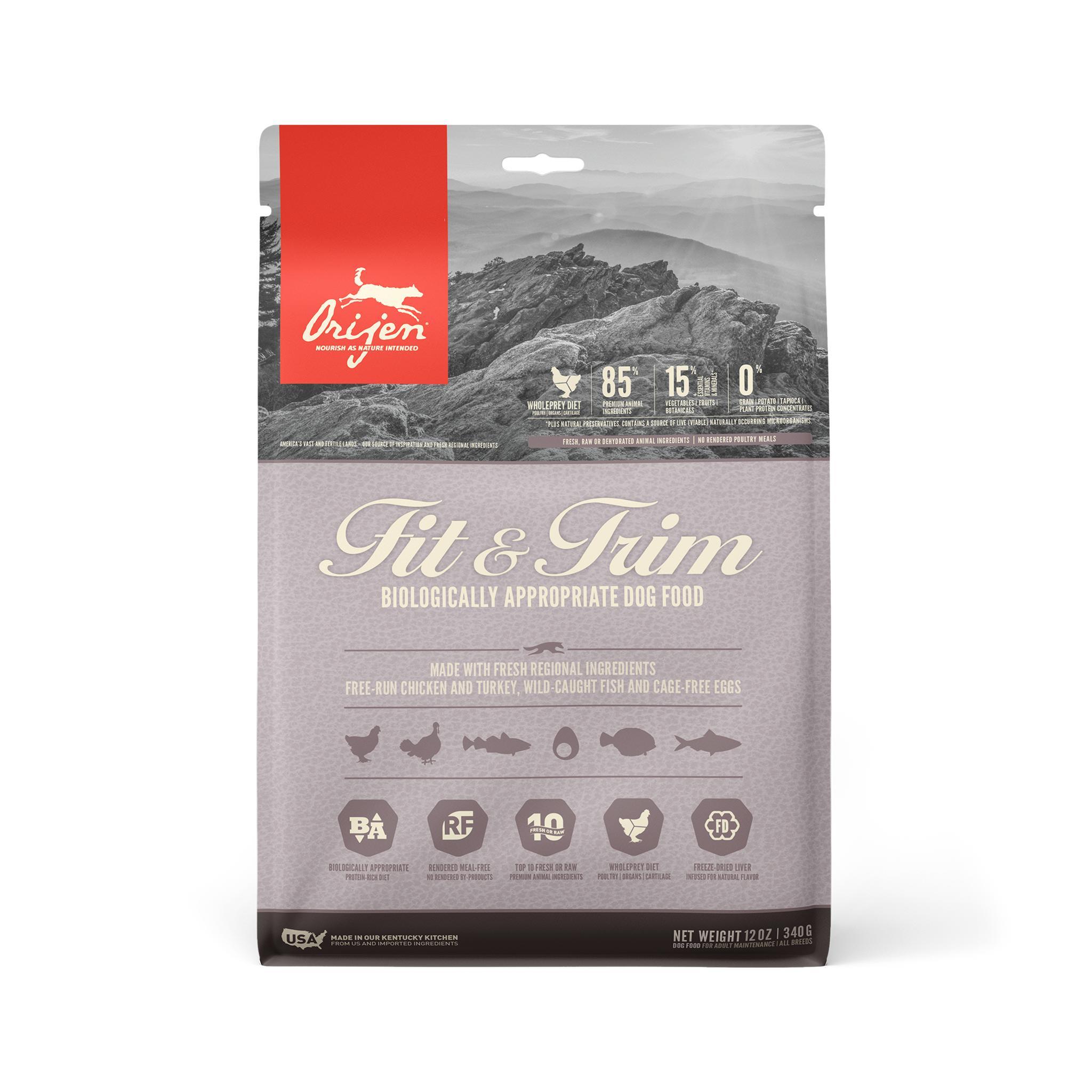 ORIJEN Fit & Trim Grain-Free Dry Dog Food Image