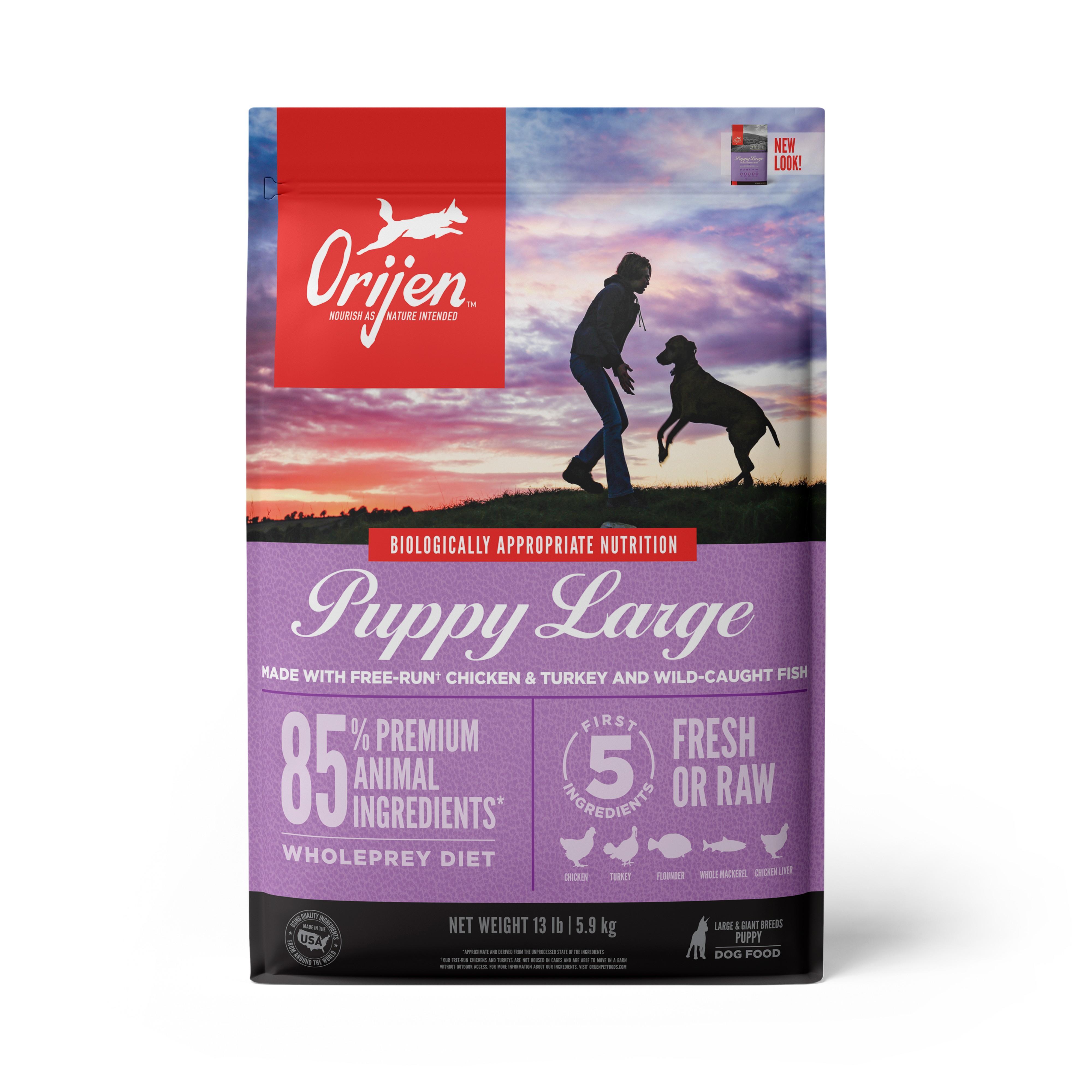 ORIJEN Puppy Large Breed Grain-Free Dry Dog Food Image