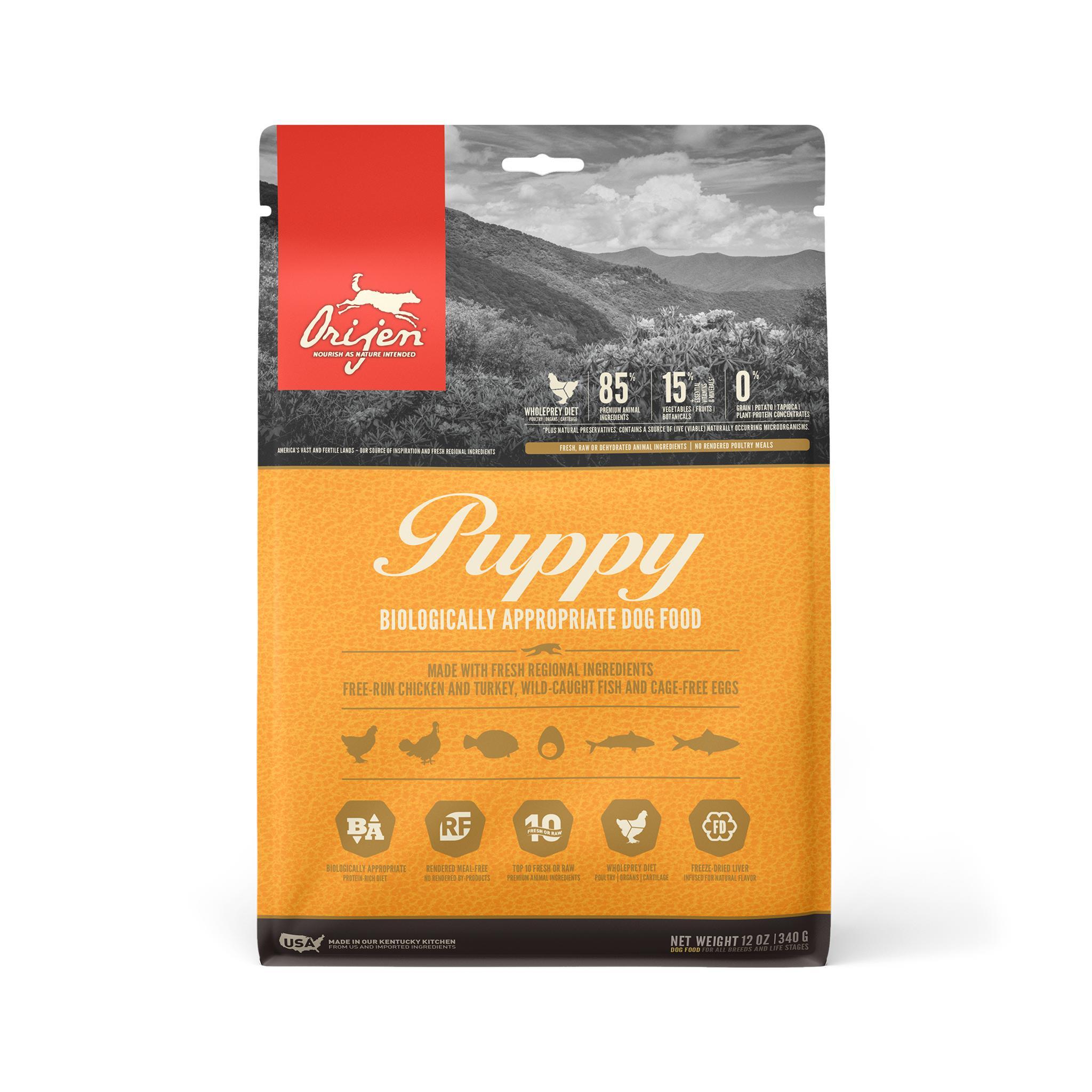 ORIJEN Puppy Grain-Free Dry Dog Food Image