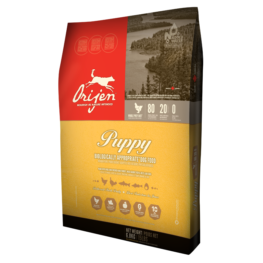 ORIJEN Puppy Dry Dog Food, 25-lb