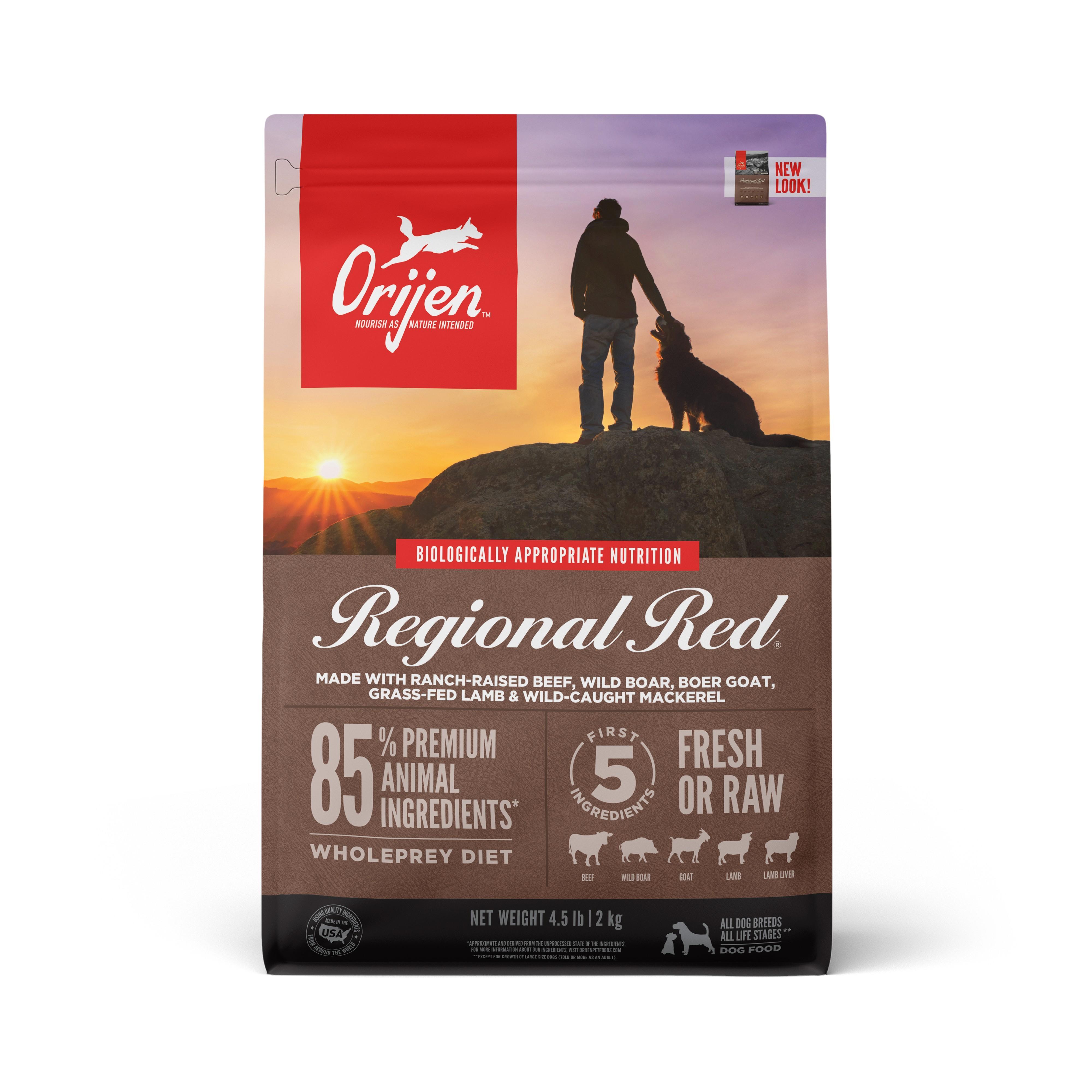 ORIJEN Regional Red Grain-Free Dry Dog Food Image