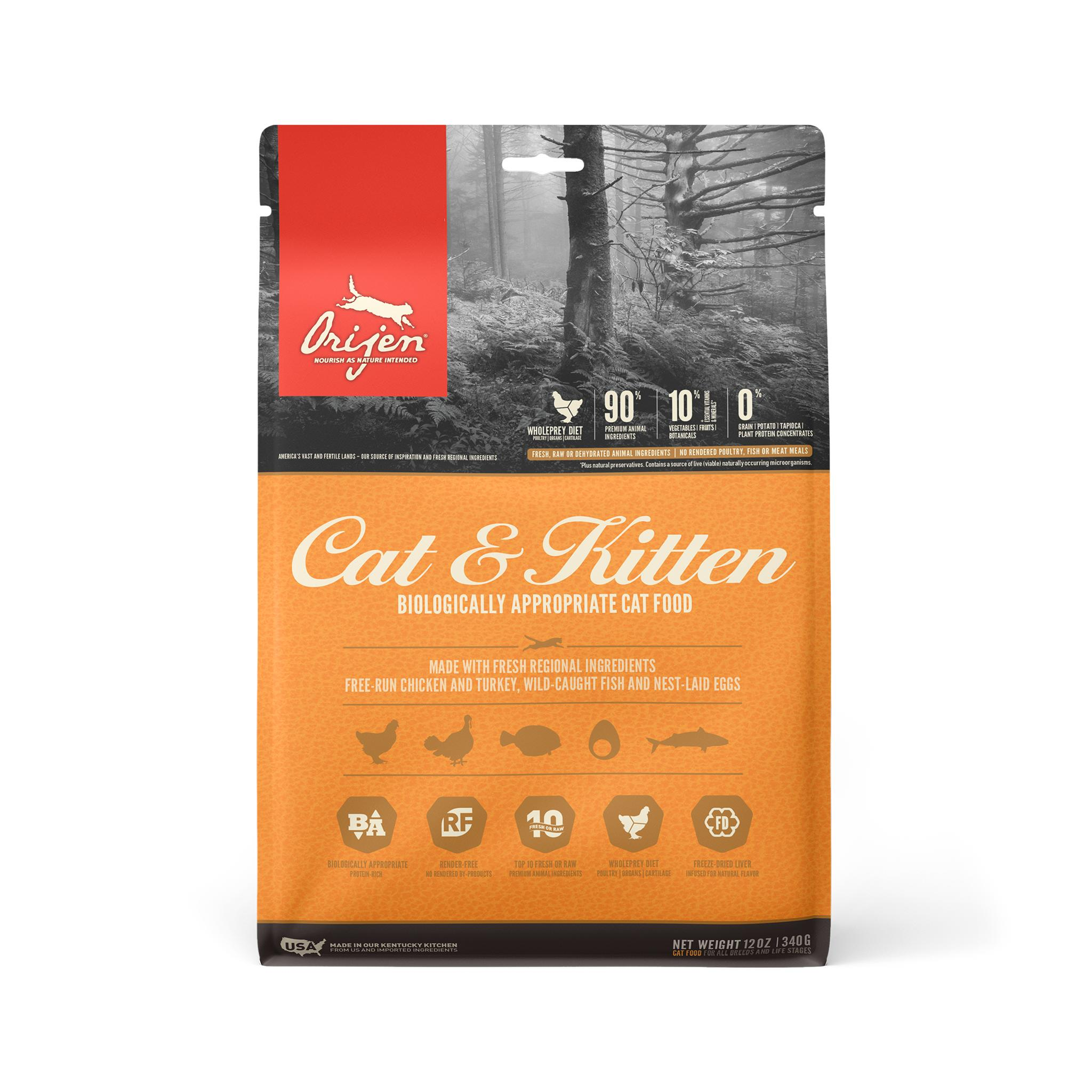 ORIJEN Cat & Kitten Dry Cat Food Image