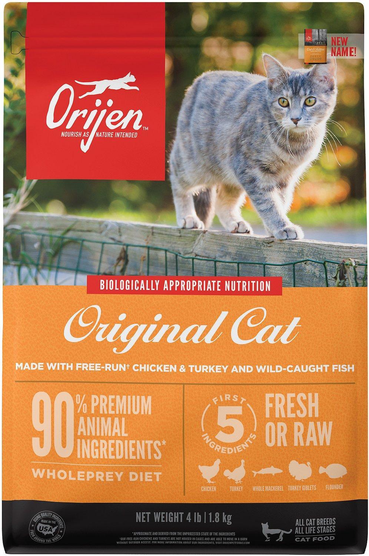 ORIJEN Cat & Kitten Dry Cat Food, 15-lb