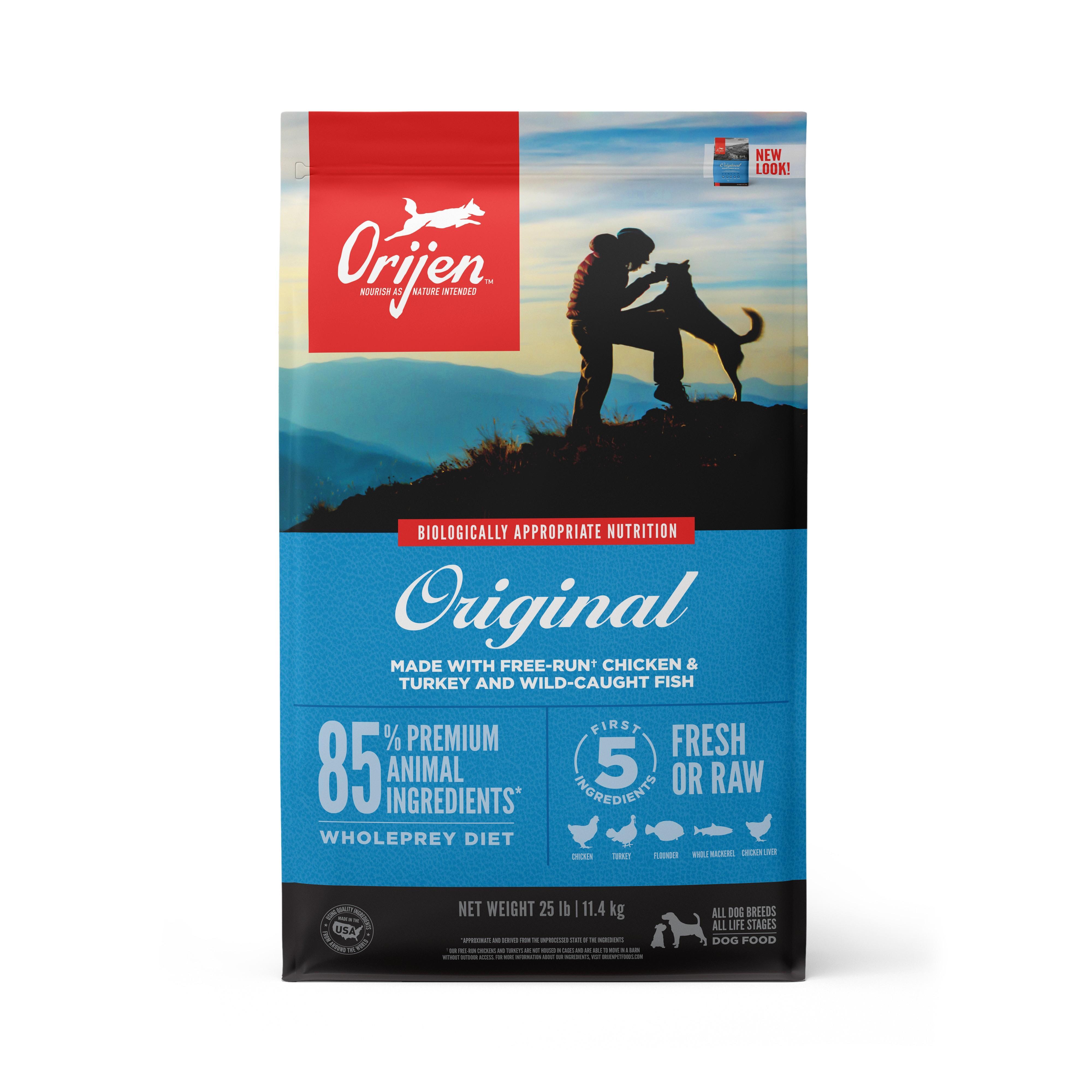 ORIJEN Original Grain-Free Dry Dog Food, 25-lb Size: 25-lb