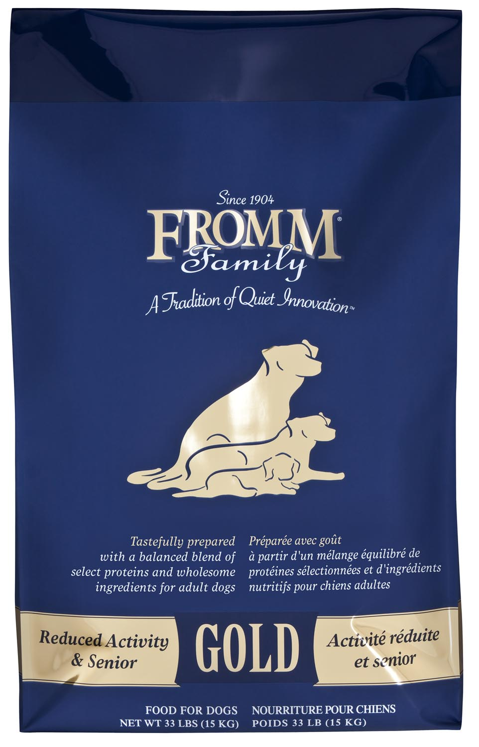 Fromm Gold Reduced Activity and Senior Dry Dog Food, 33-lb