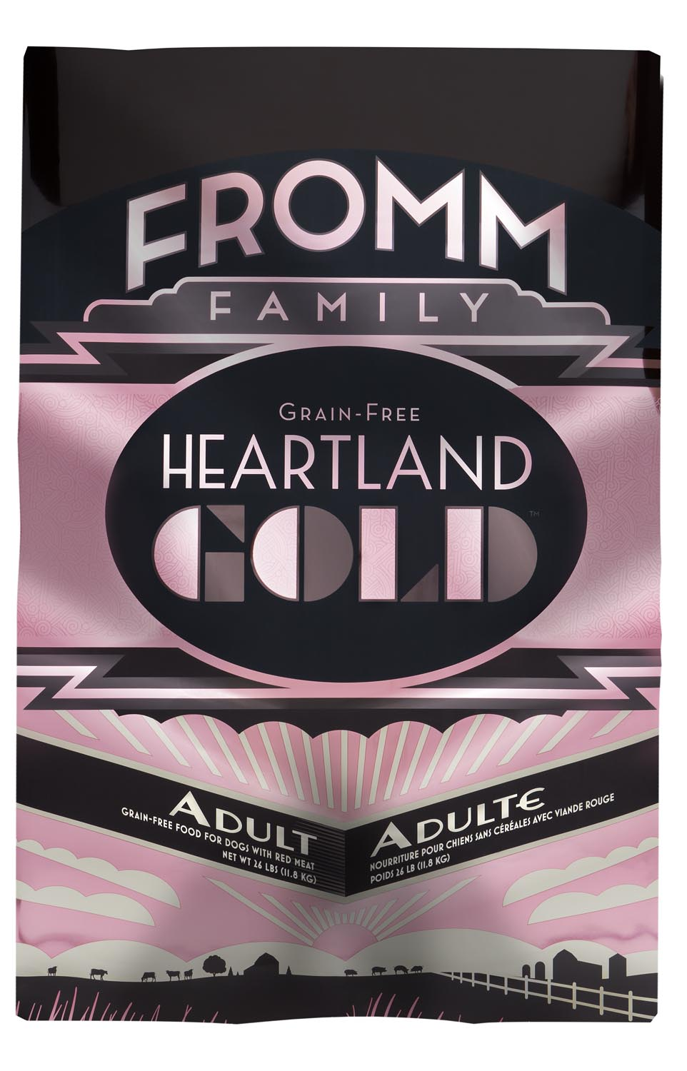 Fromm Heartland Gold Grain Free Adult Dry Dog Food, 4-lb