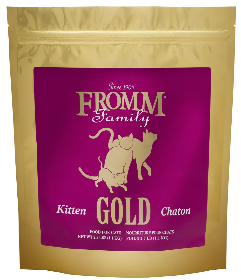 Fromm Gold Kitten Dry Cat Food, 2.5-lb