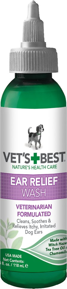 Vet's Best Ear Relief Wash for Dogs Image