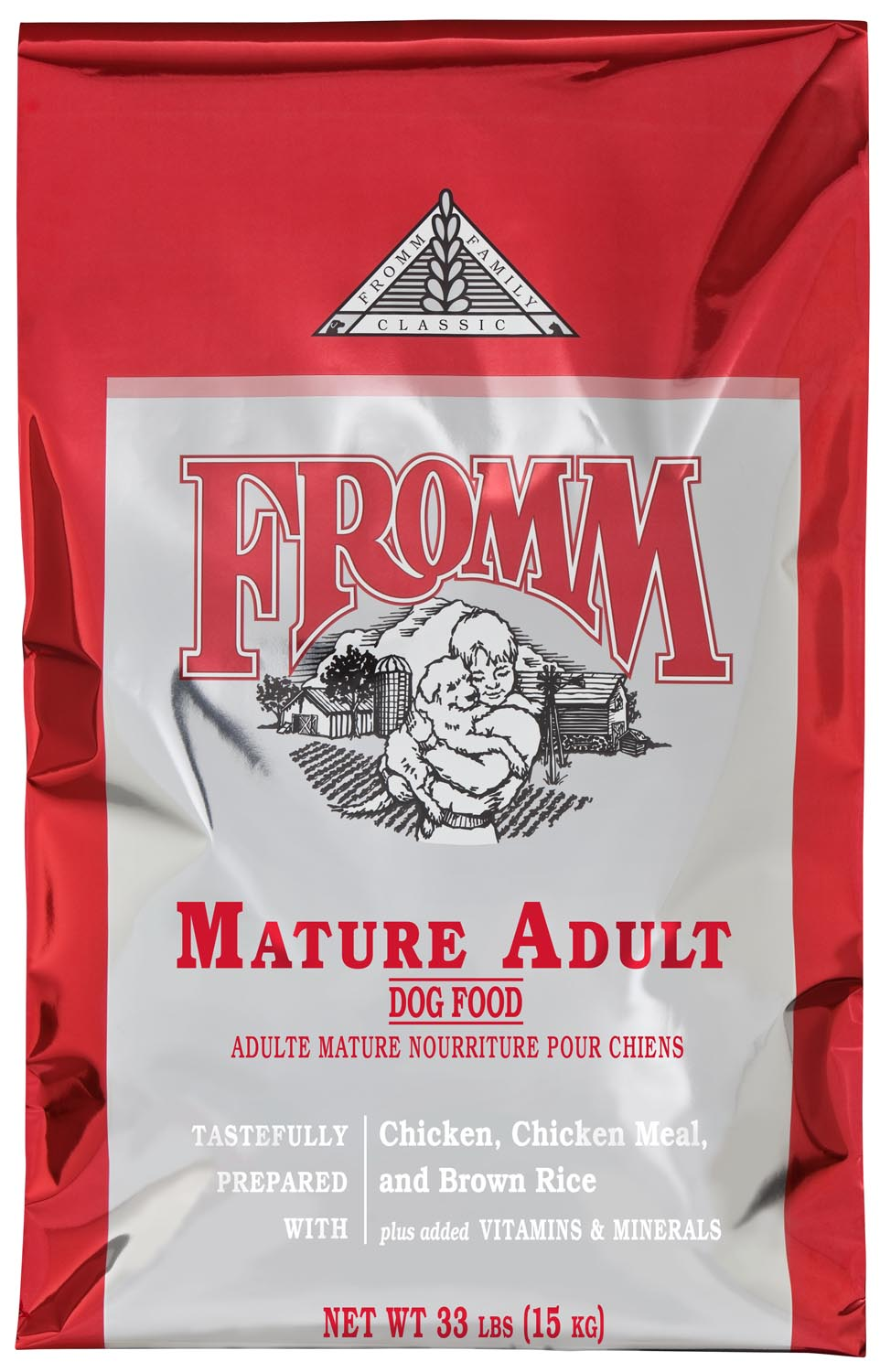 Fromm Family Classics Mature Formula Dry Dog Food, 33-lb