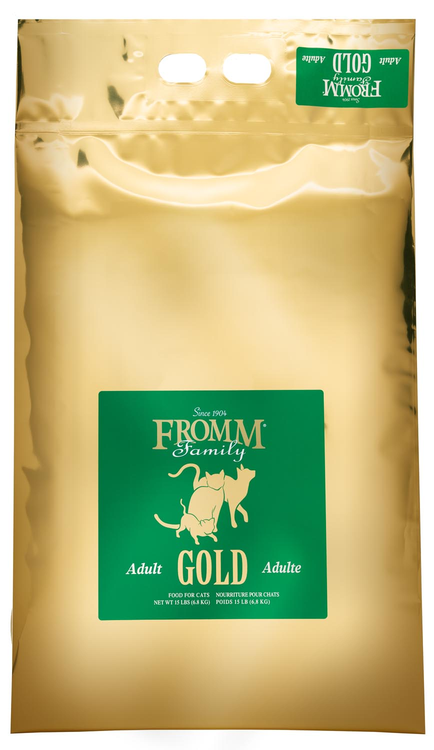 Fromm Gold Adult Dry Cat Food, 15-lb